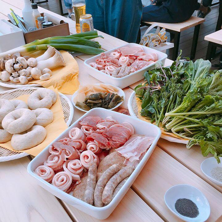 うまもん発酵漬物 BBQ 東急百貨店 吉祥寺